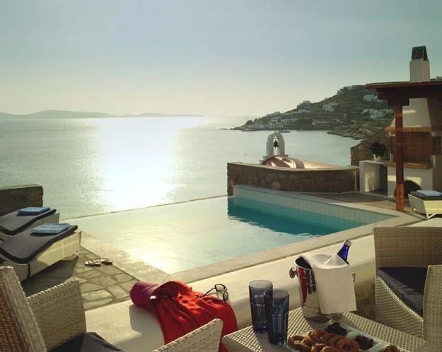 Wonderful Mykonos Grand Hotel, Greece.