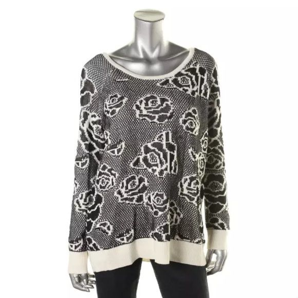 NWTHEATHER B Black-Ivory Pattern Sweater Size: XL Size Origin: US Manufacturer Color: Black-Ivory Retail: $98.00 Condition: New with tags Style Type: Pullover Sweater Collection: Heather B Sleeve Length: Long Sleeve Bust Across: 23 Inches Neckline: Scoop Material: 44% Cotton/34% Acrylic/26% Rayon Fabric Type: Knit Specialty: Pattern Heather B Sweaters