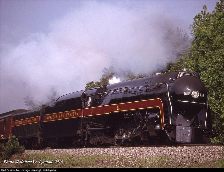 RailPictures.Net Fotoğraf: NW 611 Norfolk & Batı Bob Lyndall tarafından Bilinmeyen, Virginia Buhar 4-8-4
