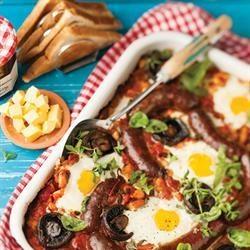 All in one breakfast / Alles-in-een-ontbyt