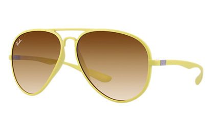 RAY BAN RB4180-60852L AVIATOR LITEFORCE(アビエイター)