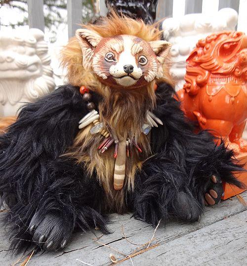 wickedly neato!  Maya the red panda by ~missmonster on deviantART