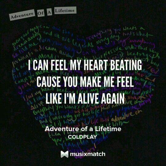 Adventure of a lifetime - Coldplay Lyrics