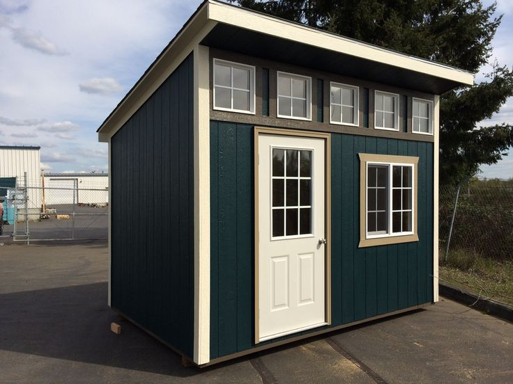 23 best shed playhouse images on pinterest playhouse for Shed roof styles
