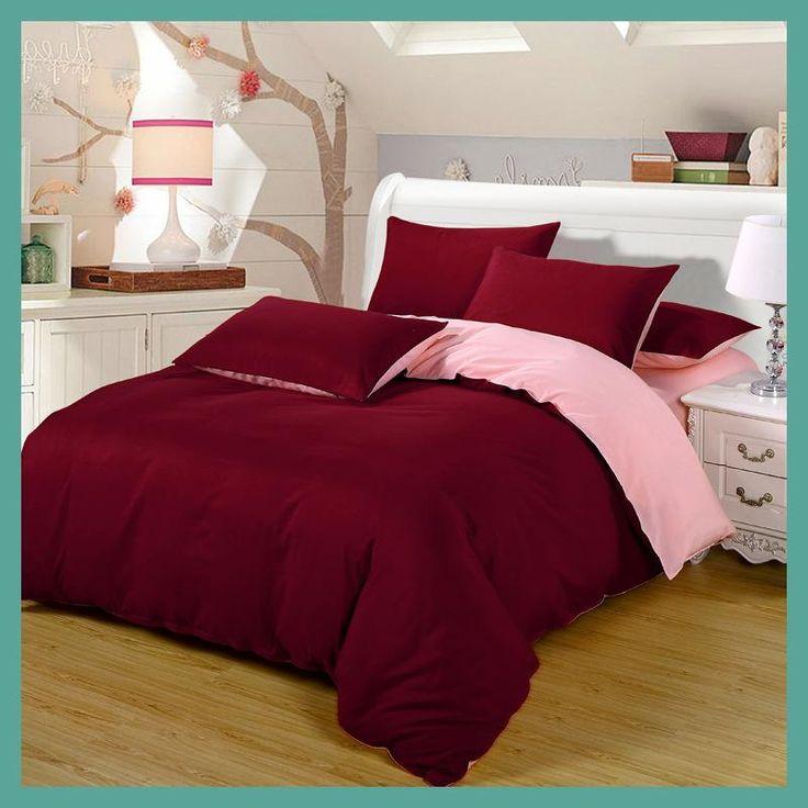 2016 Bedding-set 4Pcs King Size Solid Bedding Sets Bed Sheets Duvet Cover Bedclothes Linen Colcha De Cama Bedspread No Comforter