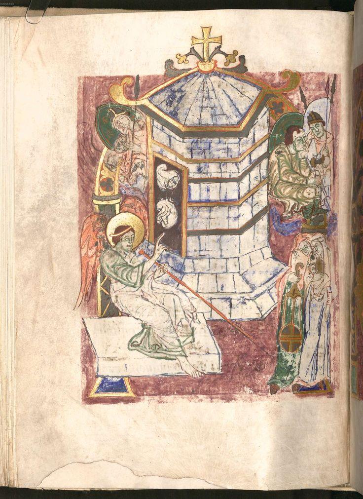 Die Bayerische Staatsbibliothek, Clm 6421, Sakramentar Bischof Abrahams, fol. 113r.