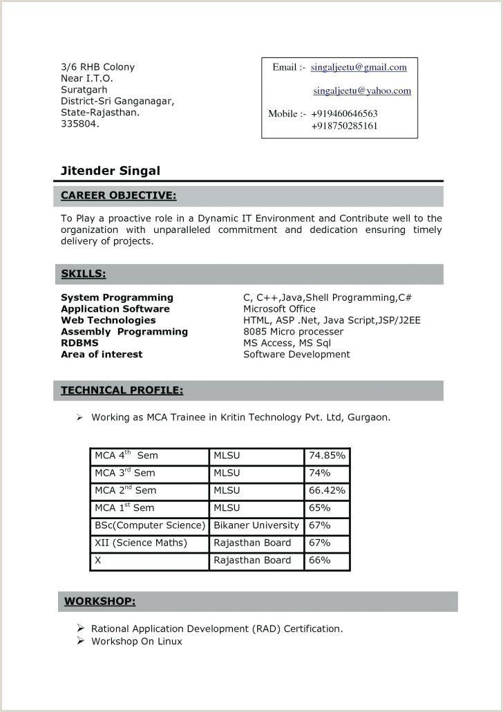 Fresher resume format for java fresher resume format for