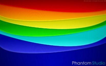 abstract rainbow gimp tutorial