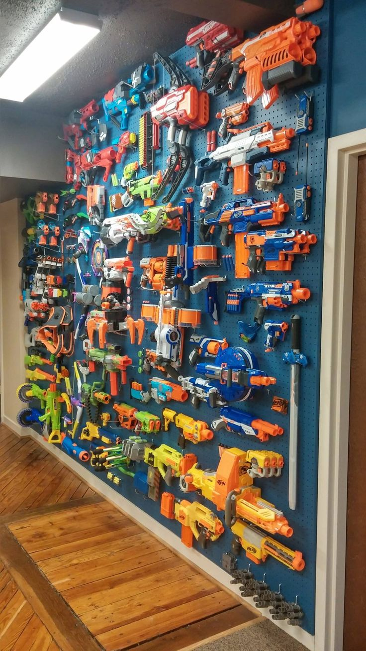 Nerf Wall In 2019 Gaming Room