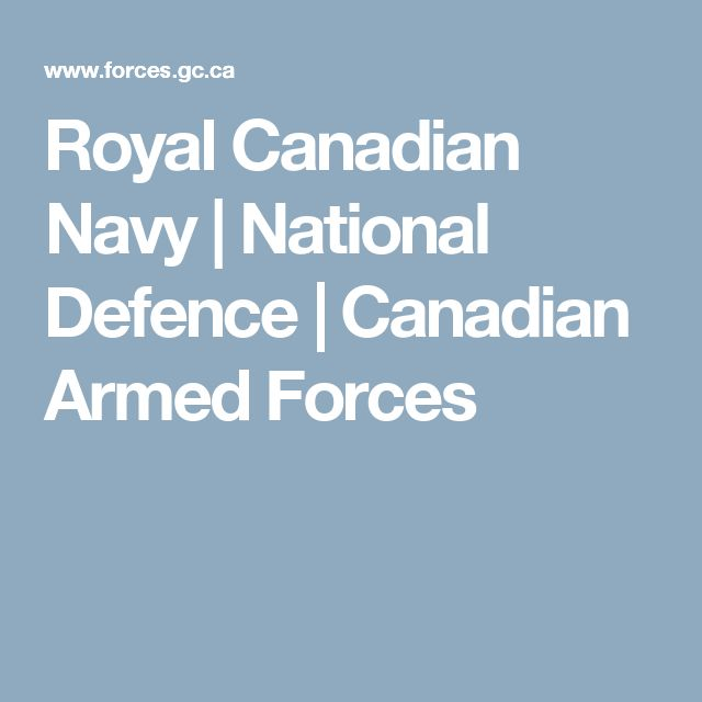 Royal Canadian Navy | National Defence | Canadian Armed Forces