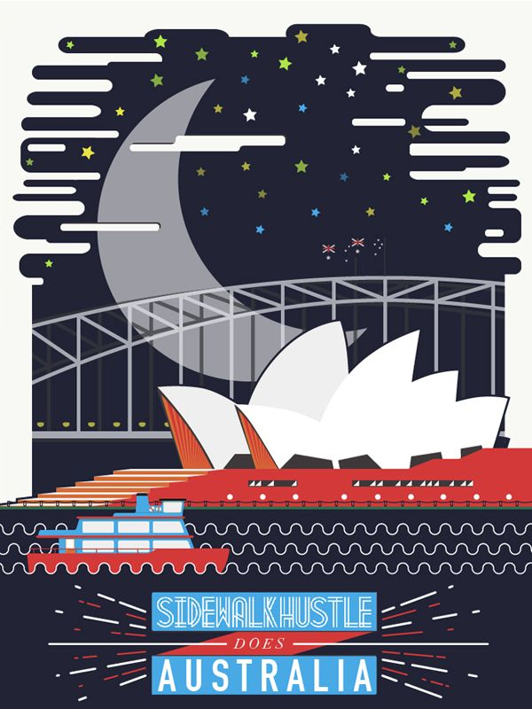 Sidewalk Hustle February 2014 'The Australian' Mixtape