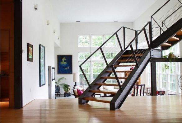 Металлические лестницы - практичность, прочность, декоративность - Дом и стройка - Статьи - FORUMHOUSE