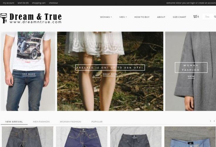 DreamnTrue.com Web Toko Online Portfolio olleh ATDIV.com - http://www.atdiv.com/project/dreamntrue-com/