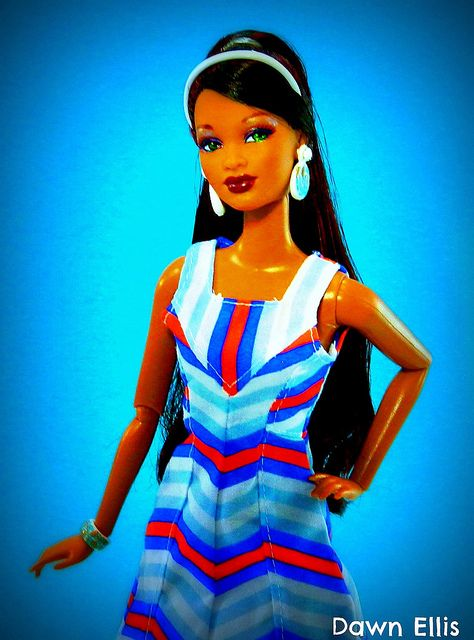 HSM Collection: Trichelle by Dawn Ellis, via FlickrFinal Dolls, Age Barbiez, Black Barbie'S, Baby Dolls, Ebony Dolls, Dolls Islands, Barbie Dolls, Black Dolls, Black Barbies Dol