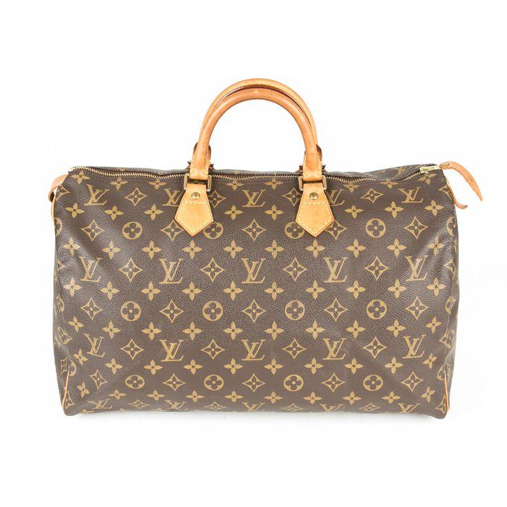Louis Vuitton Speedy 40 Handbag (Authentic Pre Owned)
