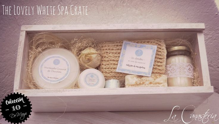 The Lovely White Spa Crate