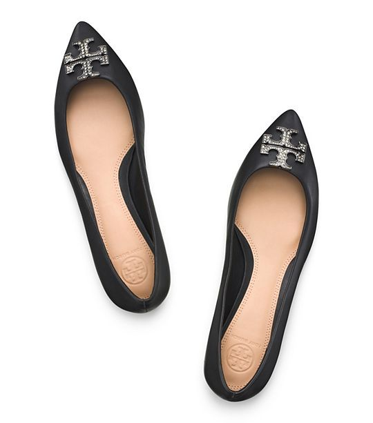 Tory Burch Embellished Flats