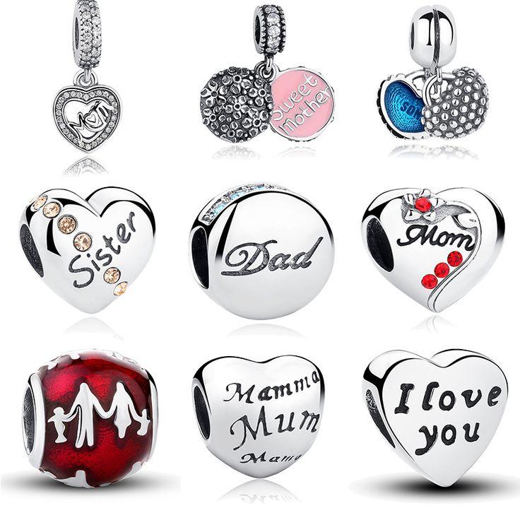 Pandora Style Family Charm Beads //Price: $14.99 & FREE Shipping //     #hashtag1