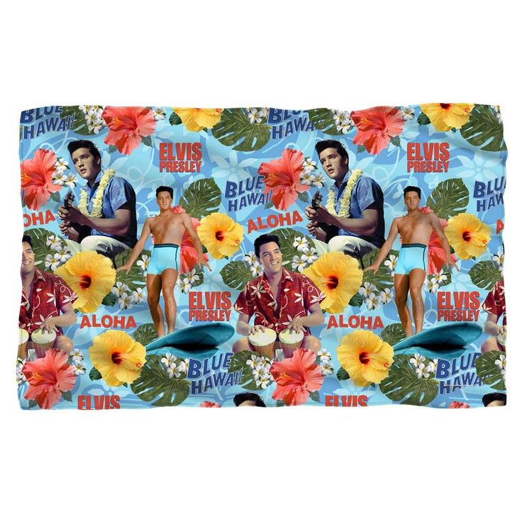 Elvis Presley - Blue Hawaii Polar Fleece Blanket