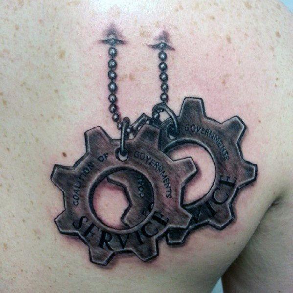 22 best Gears Of War Cog Tattoo images on Pinterest | Tattoo ideas ...