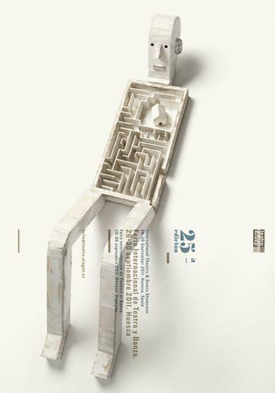 Carteles : Isidro Ferrer #stagedphotograph