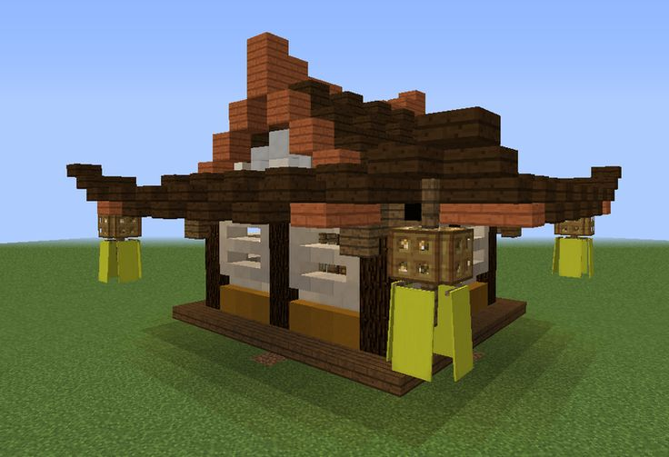 Old Japan Small House - GrabCraft - Your number one source for MineCraft buildings, blueprints, tips, ideas, floorplans!