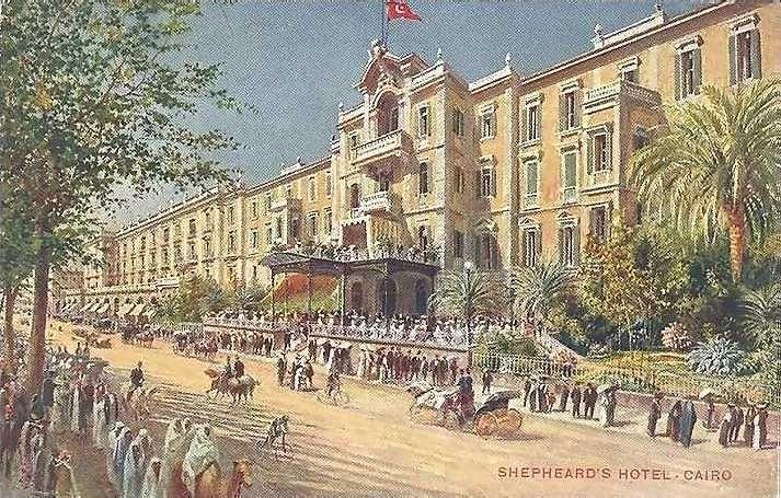 Image result for shepheard's hotel cairo