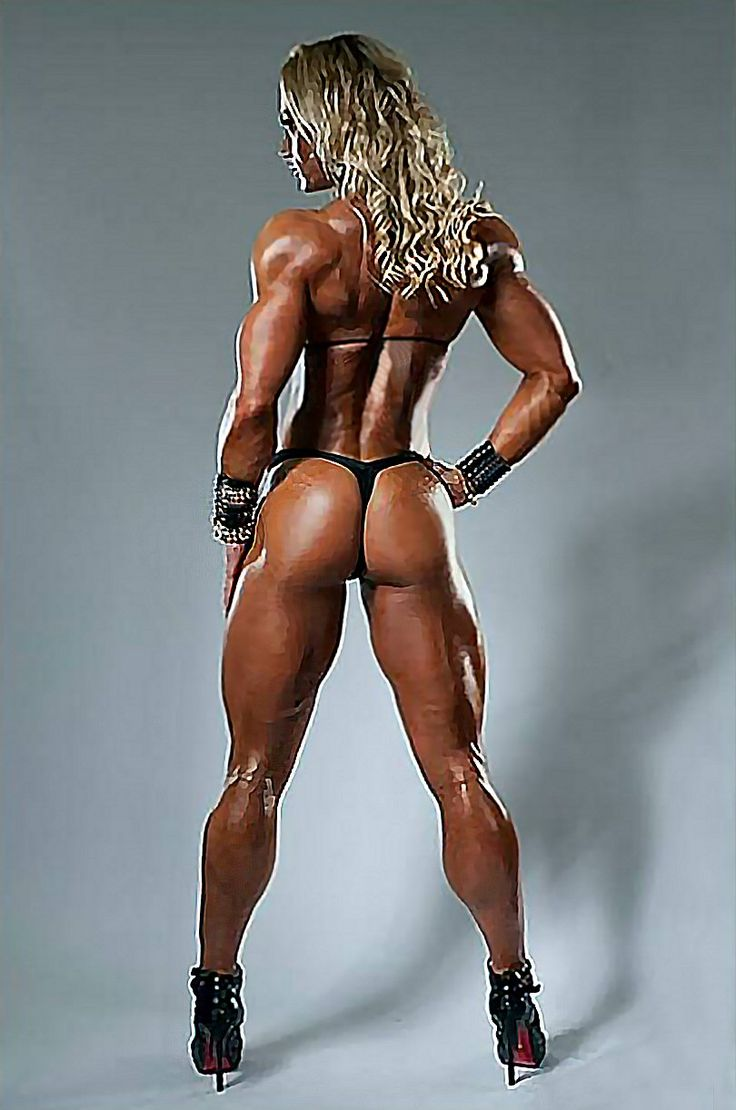 Beautiful bodybuilding naked women