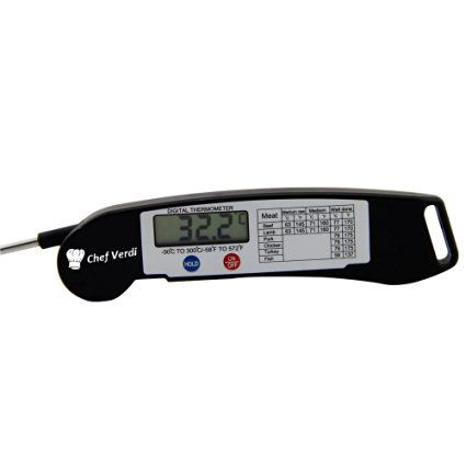 Digital Kitchen Thermometer - Ultra Fast Instant Read Digital Thermometer For…