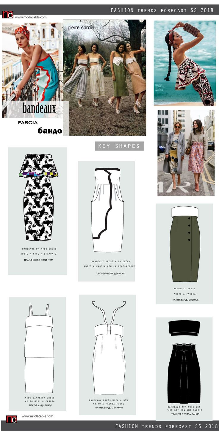SS 2018 fashion trends are already at modacable.com, go PREMIUM and unlock all of them!!!
