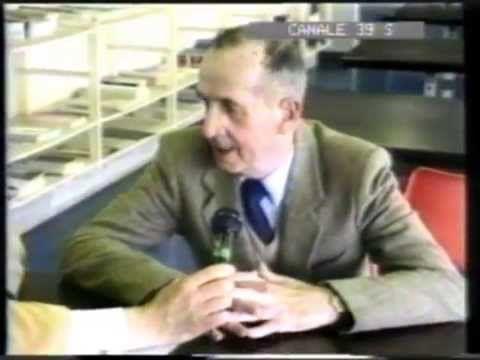 """Intervista al prof. Bruno Antonucci (1914-1995), insegnante di Matematica all'Istituto Statale d'Arte """"Stagio Stagi"""" di Pietrasanta dal 1945 al 1975. Archeologo, a lui é dedicato il Museo archeologico di Pietrasanta. Canale 39, """"I 150 anni dello Stagi"""", 1992. (Nel programma interviste anche al Preside Ilo Dati e ai prof.ri Uberto Bonetti, Giuseppe Flora, Franco Miozzo)."""