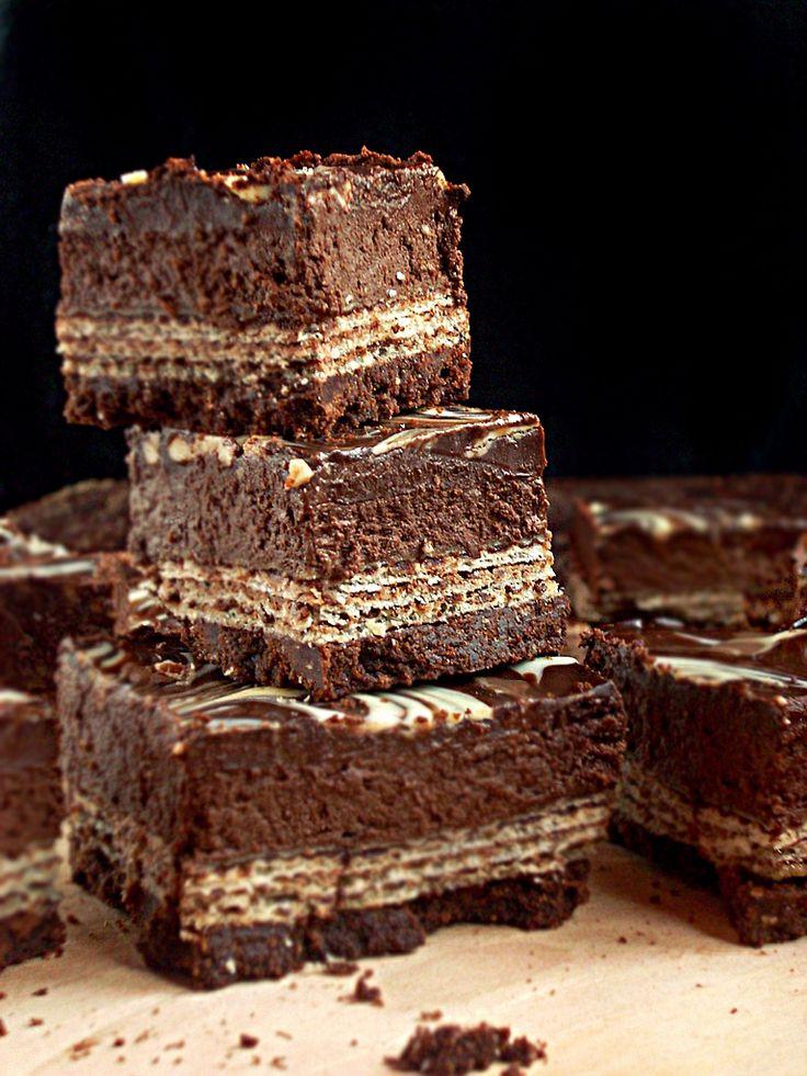 I adore cinnamon- subiektywny blog kulinarny o zapachu cynamonu: Prince Polo i sernik. Połączenie idealne?