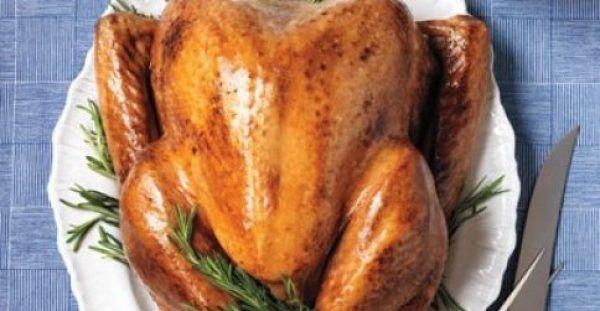 Χριστουγεννιάτικο γεμιστό κοτόπουλο
