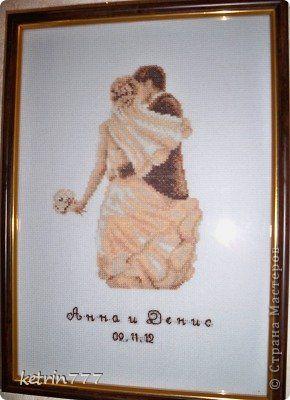 Festés falfestmény rajz esküvői keresztszemes hímzés esküvői ajándék + + + rendszer Canvas téma 1 fotó