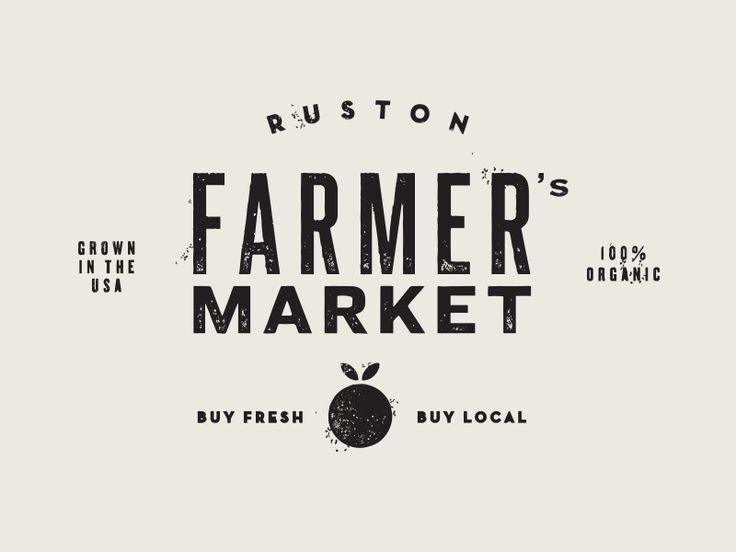 ruston farmer's market / jake dugard.