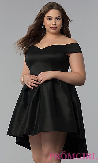 69e3932fdedd1 Full Figure Dresses and Plus-Size Prom Gowns -PromGirl | LBD (Little ...
