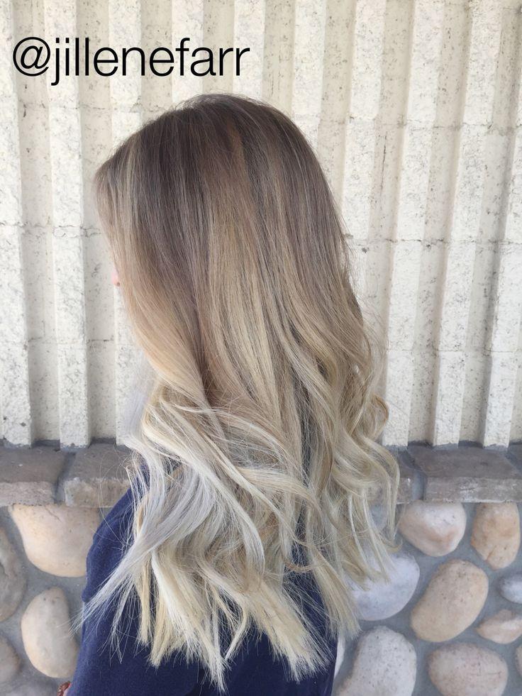 Subtle Balayage Smudge Root Sombre Balayage Hair Hair