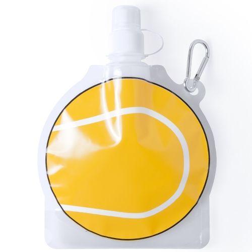 Botella plegable pelota de tenis