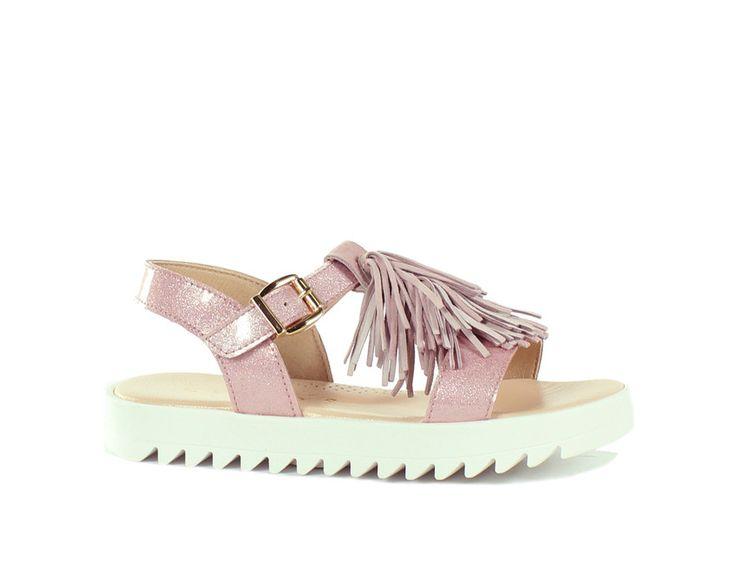 Clarys sandalen roze - Schoenen Moernaut