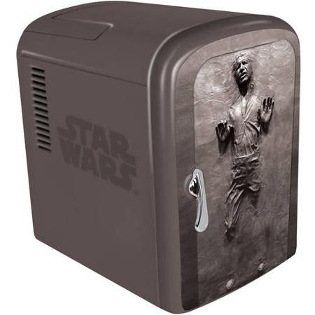 Always wanted a Frozen Carbonated Han Solo Mini-Fridge?  Now's your chance...