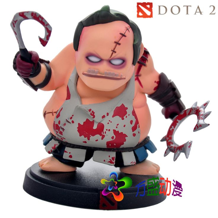 DOTA 2 Moba Game Figure Pudge PVC Model Action Figures Defense of the Ancients Collection dota2 Toys Gift