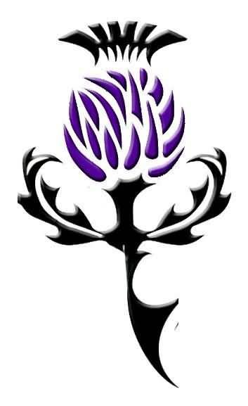 Image result for tattoo thistle
