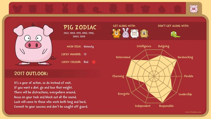What's in store for people born in the year of the Pig?