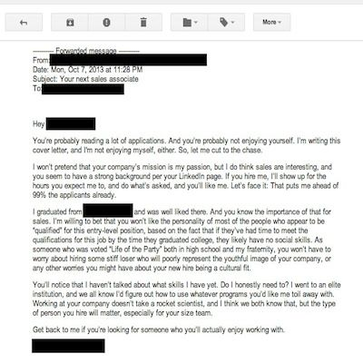 Best Resume Cover Letters Ever. system administrator cover letter ...