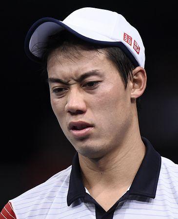 苦戦のジョコビッチ戦で試合中に険しい表情を見せる錦織圭=1日、パリ(AFP=時事) ▼2Nov2014時事通信|錦織、決勝進出ならず=ジョコビッチに完敗-男子テニス http://www.jiji.com/jc/zc?k=201411/2014110200014 #Kei_Nishikori