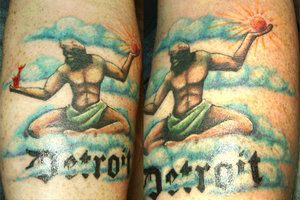 spirit of detroit tattoo - Google Search