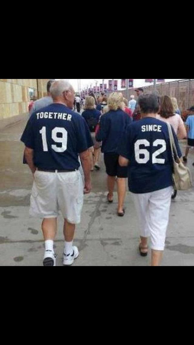My husband and I are so going to do this down the road at a Texas Rangers game!