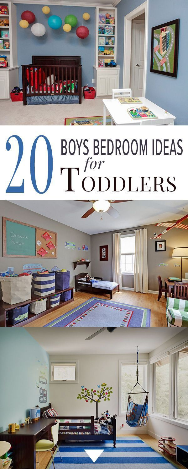20 Boys Bedroom Ideas For Toddlers Toddler Boys Room Boy Toddler Bedroom Little Boy Bedroom Ideas