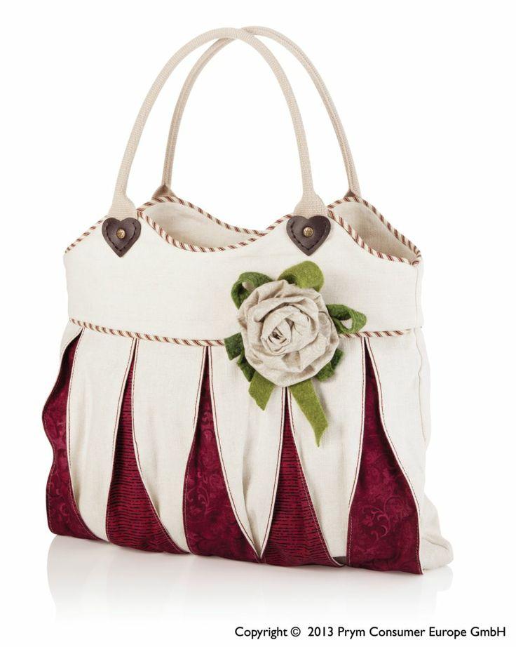 Χειροποίητη τσάντα με χερούλι Prym