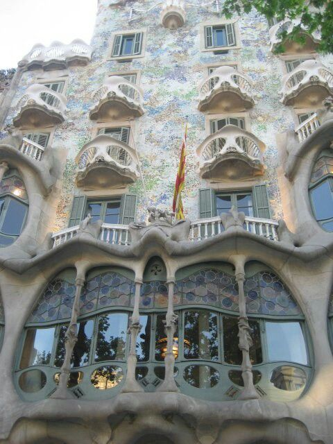 Gaudi 39 S Casa Battlo In Barcelona Spain Been Dere